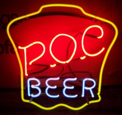 beer sign collection MY BEER SIGN COLLECTION 2 – Not for sale but can be bought… pocbeerhanger