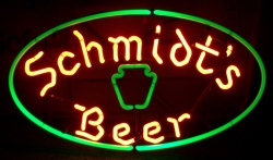 beer sign collection MY BEER SIGN COLLECTION 2 – Not for sale but can be bought… schmidtsbeerhangerwithinsert