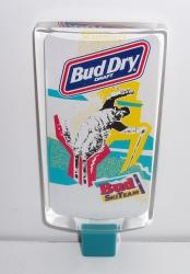 bud dry draft beer ski tap handle