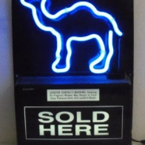 Camel Cigarettes Neon Sign