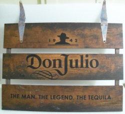 don julio tequila sign