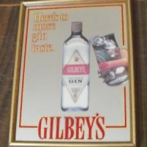 gilbeys gin mirror