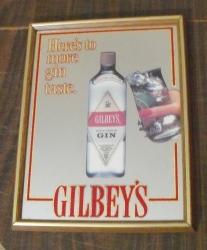 gilbeys gin mirror