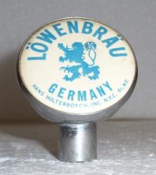 lowenbrau beer tap handle