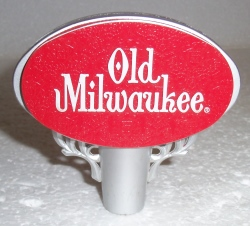 old milwaukee beer tap handle