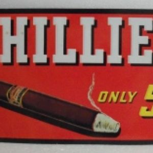 phillies cigars tin sign