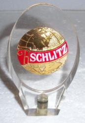 schlitz beer tap handle