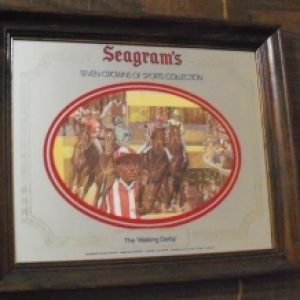 seagrams whiskey mirror
