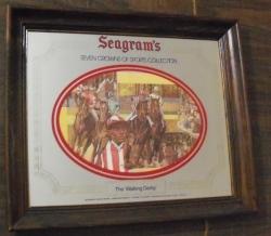 seagrams whiskey mirror