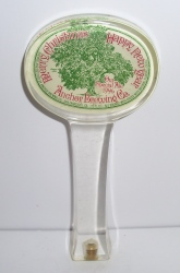 anchor brewing holiday tap handle
