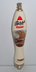 bass draught ale tap handle