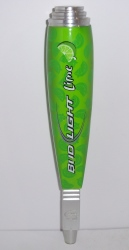 bud light lime beer tap handle