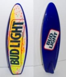 bud light beer surfboard tap handle