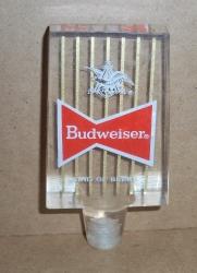 budweiser beer tap handle