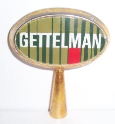 gettelman beer tap handle