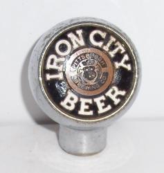 iron city beer tap handle