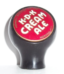 k.d.k. cream ale tap handle