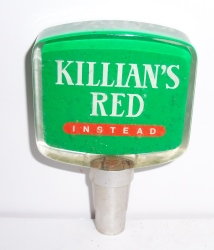 killians red beer tap handle