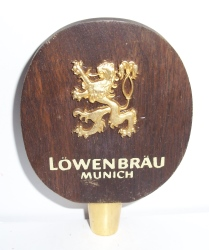 lowenbrau munich beer tap handle