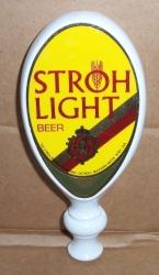 stroh light beer tap handle