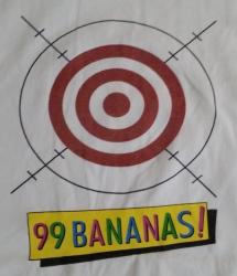99 Bananas Liqueur T-Shirt 99 bananas liqueur t-shirt 99 Bananas Liqueur T-Shirt 99bananasshootonedowntshirtrear