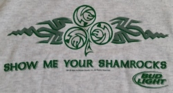 Bud Light Beer T-Shirt bud light beer t-shirt Bud Light Beer T-Shirt budlightshowmeyourshamrockstshirt
