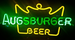 Augsburger Beer Neon Sign