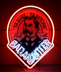 Ballard Bitter Neon Sign  MY BEER SIGN COLLECTION – Not for sale but can be bought… ballardbitter