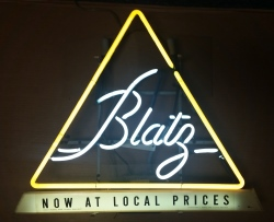Blatz Beer Neon Sign  MY BEER SIGN COLLECTION – Not for sale but can be bought… blatznowatlocalprices1959
