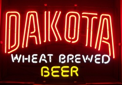 Dakota Wheat Beer Neon Sign neon beer signs for sale Home dakotawheatbrewedbeer
