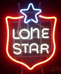 Lone Star Beer Neon Sign beer sign collection My Beer Sign Collection 2 – Not for sale but can be bought… lonestarshield