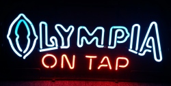 Olympia Beer On Tap Neon Sign beer sign collection My Beer Sign Collection 2 – Not for sale but can be bought… olympiaontap
