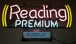 beer sign collection MY BEER SIGN COLLECTION 2 – Not for sale but can be bought… readingpremium1964