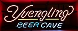 Yuengling Beer Cave Neon Sign beer sign collection MY BEER SIGN COLLECTION 2 – Not for sale but can be bought… yuenglingbeercave2016