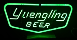 Yuengling Beer Neon Sign beer sign collection MY BEER SIGN COLLECTION 2 – Not for sale but can be bought… yuenglingbeergreen