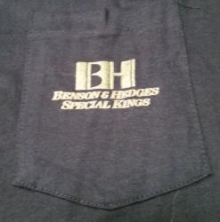Benson Hedges Cigarettes T-Shirt benson hedges cigarettes t-shirt Benson Hedges Cigarettes T-Shirt bensonhedgesspecialkingspockettshirt