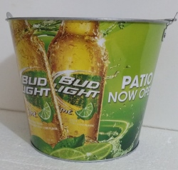 Bud Light Lime Beer Bucket