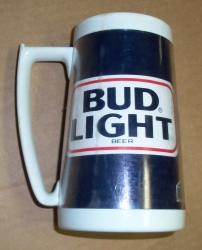 Bud Light Beer MLB St Louis Cardinals Insulated Mug