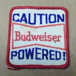 Budweiser Beer Uniform Patch