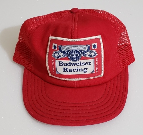 Budweiser Beer Racing Hat