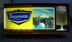 Burgermeister Beer Register Light  MY BEER SIGN COLLECTION – Not for sale but can be bought… burgermeisterbeerlight