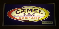 Camel Cigarettes Lighted Sign
