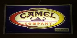 Camel Cigarettes Lighted Sign