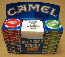 Cigarette Promotional Items all products All Products camelvegaspokerchips