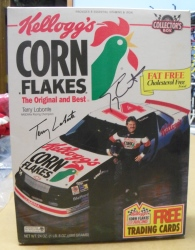 Kelloggs Corn Flakes NASCAR Terry Labonte Box