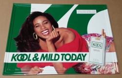 Kool Mild Cigarettes Tin Sign