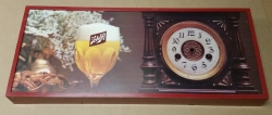 Schlitz Beer Clock Face