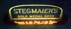 Stegmaiers Gold Medal Beer Light beer sign collection My Beer Sign Collection 2 – Not for sale but can be bought… stegmaiersgoldmedalbeerlight