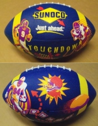 Sunoco Oil Company Football
