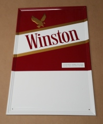 Winston Cigarettes Tin Sign